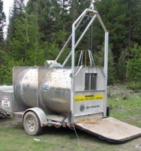 Automated Bear Trap in Montana